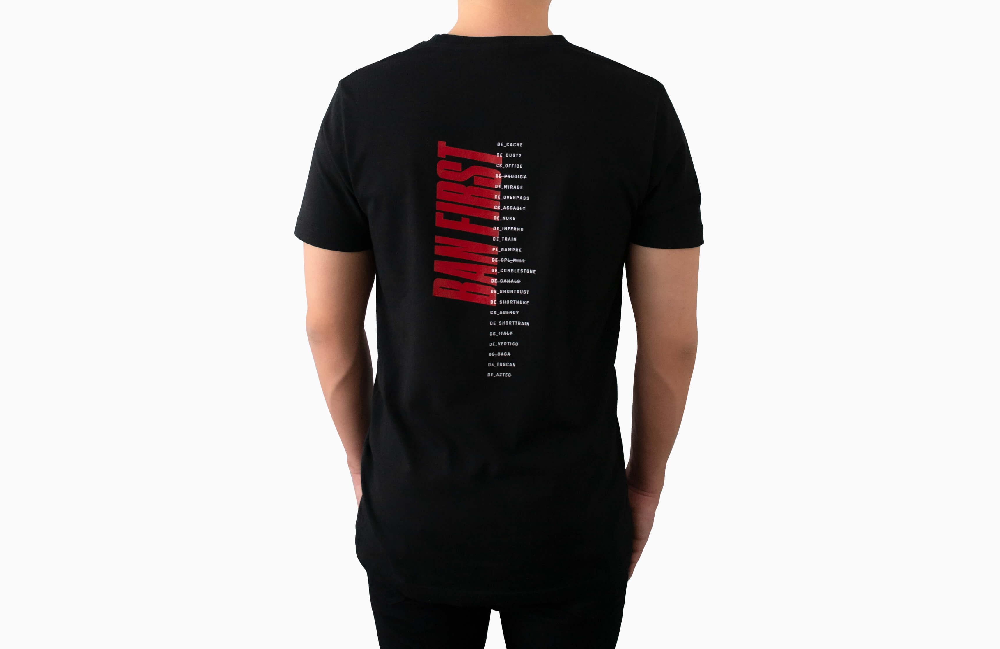 Koszulka Ban First - zdjęcie #4