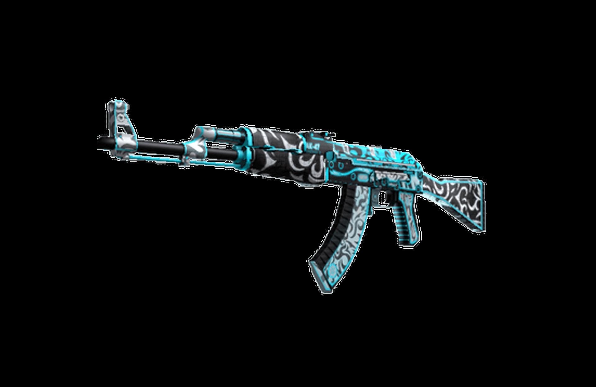 AK-47 (StatTrak™)   Mglisty front - zdjęcie #1