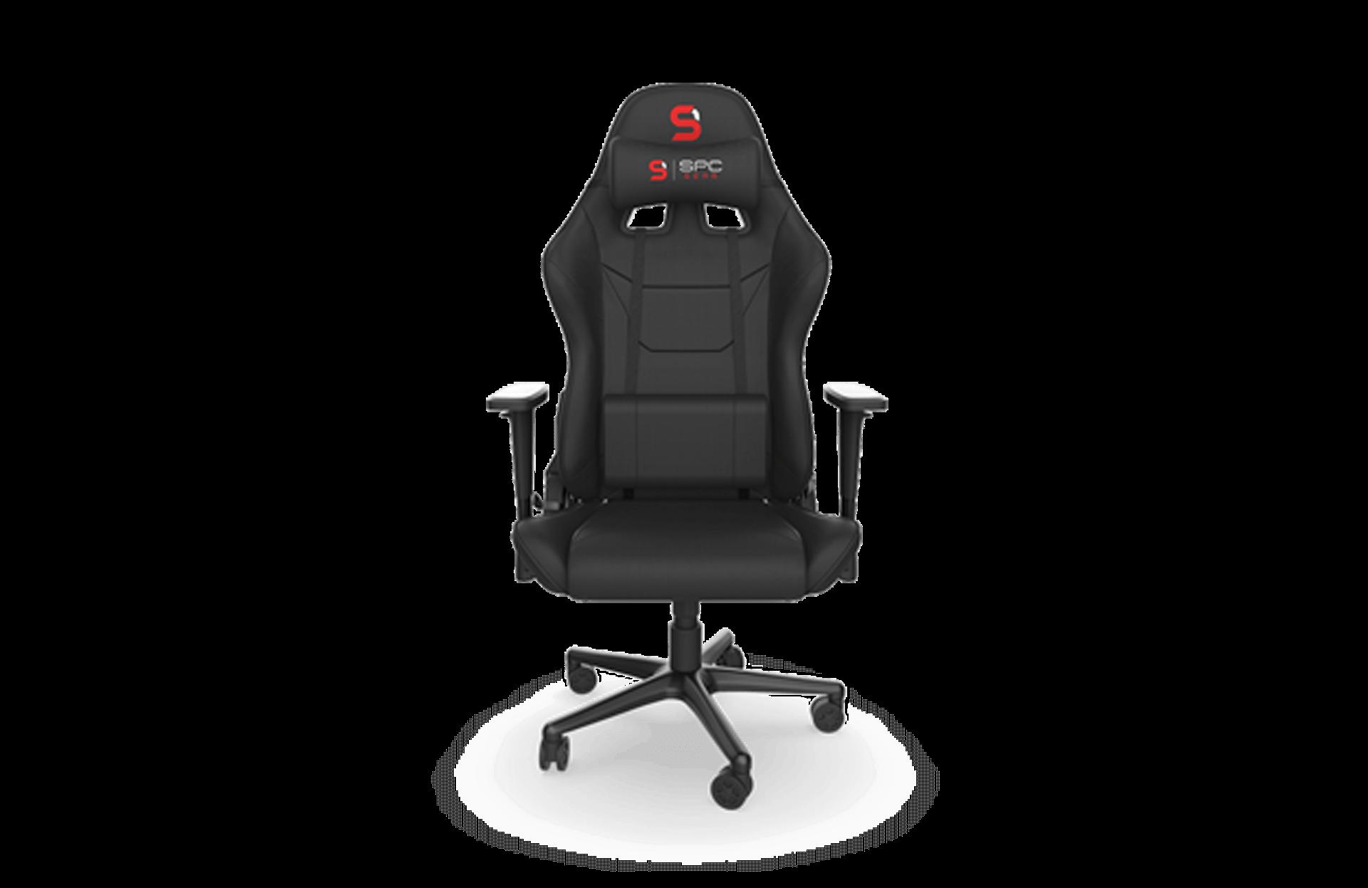 Fotel SPC GEAR SR300F V2 Czarny - zdjęcie #1