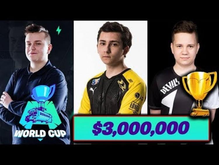 WORLD CUP 2019 SOLO *W SKRÓCIE* MEGA AKCJE! POLACY W AKCJI! $3,000,000! | TYPOWY